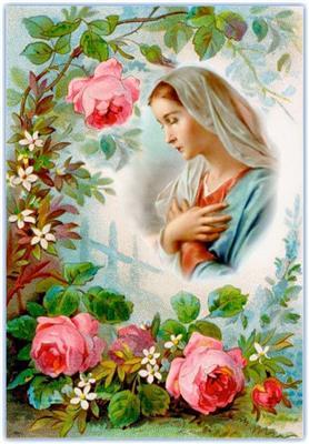 """Nhờ Mẹ tôi dâng lên Chúa bông hoa """" trở về"""""""