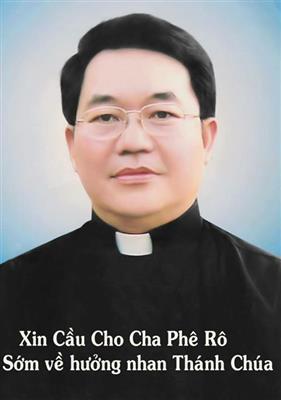 CÁO PHÓ Linh mục PHÊRÔ TRƯƠNG VĂN KHOA