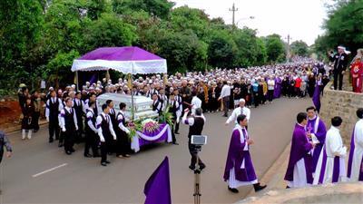 Thánh lễ an táng cha cố PhêRô Trương Văn Khoa, Gx Thánh Linh, Gp Ban Mê Thuột