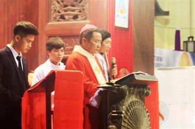 Nghi thức Tưởng niệm Cuộc Thương Khó Chúa tại NTCT.Lạng Sơn