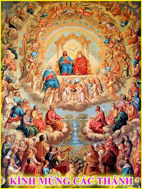 Thánh lễ kính các thánh nam nữ