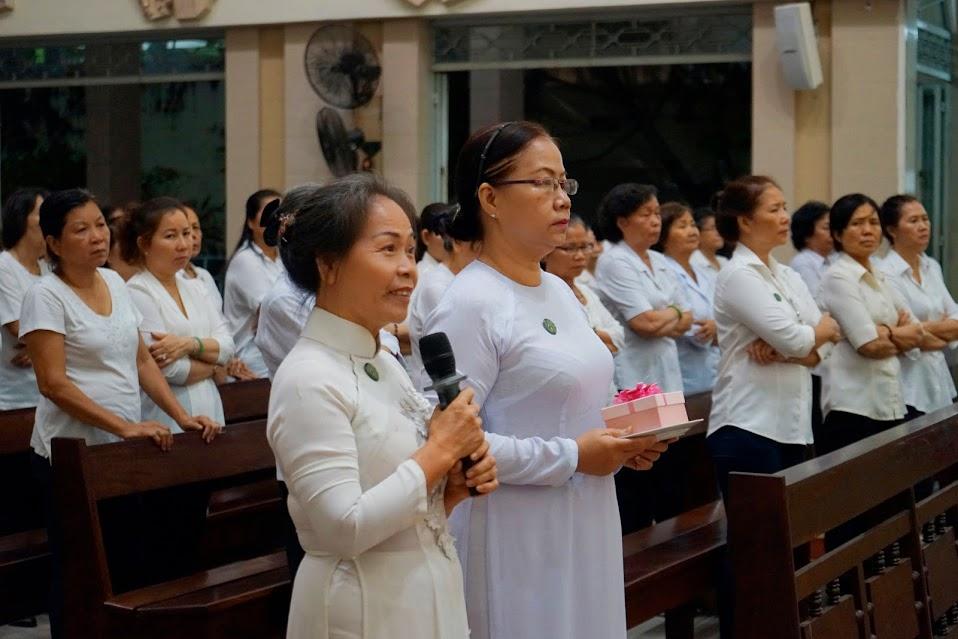 Hội Các Bà Mẹ Công Giáo hạt Phú Thọ Tĩnh Tâm mừng bổn mạng