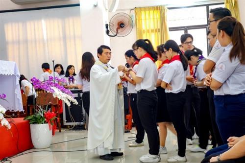 Khai giảng khóa Huấn luyện huynh trưởng Thiếu nhi Thánh Thể