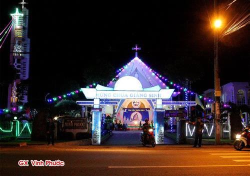 Hình ảnh hang đá Noel 2017 tại giáo hạt Buôn Hô