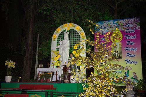 Hình ảnh Thánh Lễ Giao thừa tại Giáo xứ Phú Bình