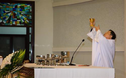 Giáo xứ Phú Bình : Thánh lễ Tiệc Ly