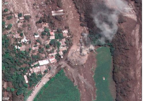 Đức Thánh Cha chia buồn vụ núi lửa phun tại Guatemala - AP
