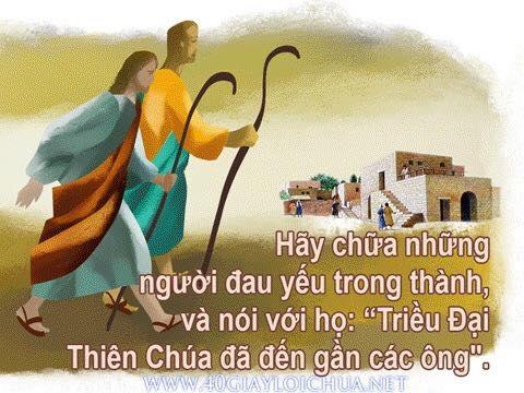 HÃY LÀ MÔN ĐỆ ĐỨC KITÔ