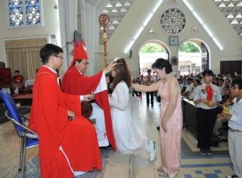 Chúa Nhật XXII Thường Niên B : 08g 00 Thánh lễ Ban Bí Tích Thêm Sức - Đền Đức Mẹ Hằng Cứu Giúp
