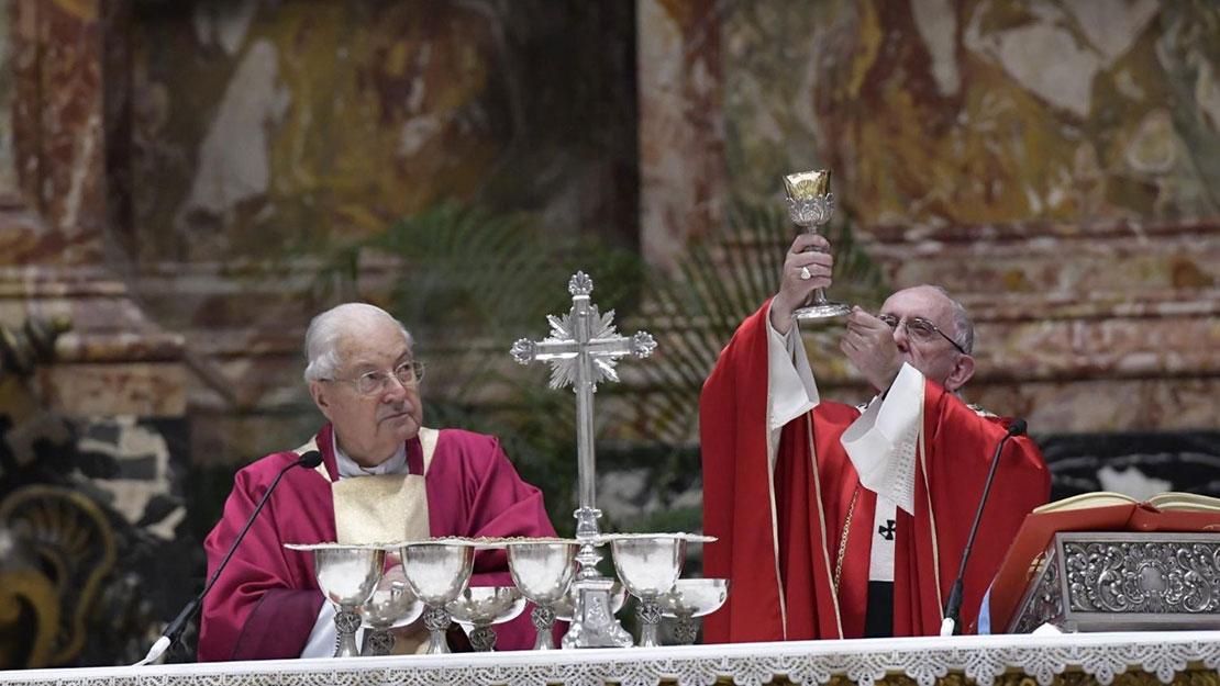 Bài giảng của ĐTC trong thánh lễ cầu cho các HY và GM qua đời trong năm qua trong đó có các ĐC Mai Thanh Lương và Bùi Văn Đọc
