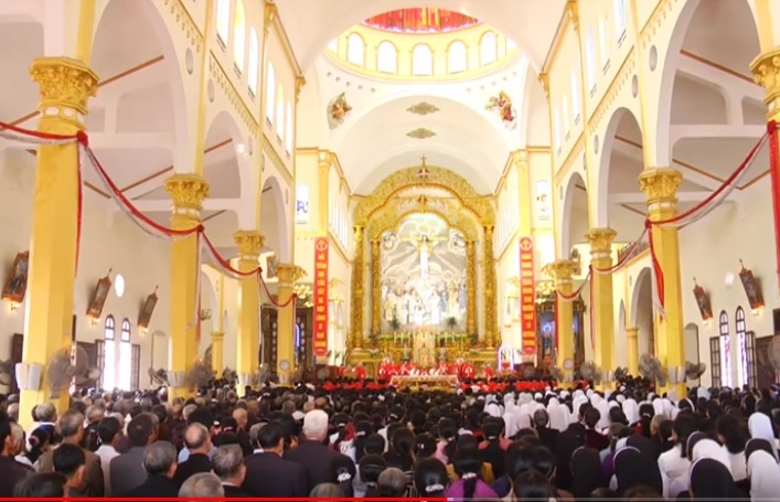 Giáo phận Bùi Chu bế mạc Năm Thánh