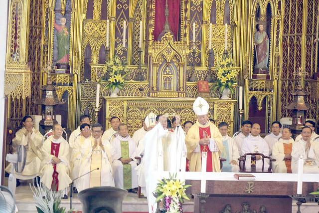 Giáo xứ Sở Kiện vui mừng đón vị chủ chăn mới