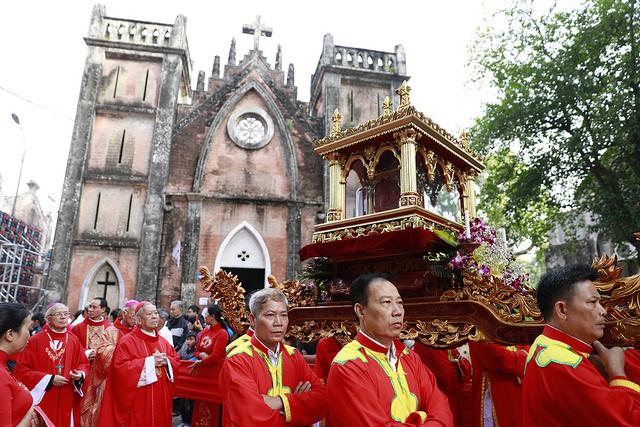 Bế mạc Năm thánh các Thánh Tử Đạo Việt Nam tại Tổng Giáo phận Hà Nội