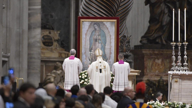 ĐTC cử hành thánh lễ kính Đức Mẹ Guadalupe