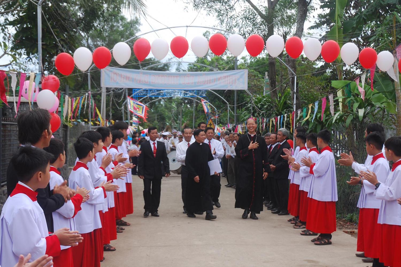 Thánh lễ Công Bố thành lập Giáo xứ Kim Phát - Giáo hạt Gia Kiệm