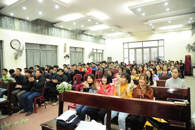 Truyền thông Sinh viên Công giáo Bùi Chu tại Hà Nội mừng sinh nhật lần thứ 09