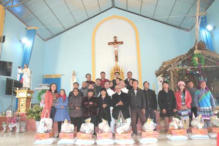 Giáo phận Bùi Chu, Caritas Ninh Cường lên miền sơn cước