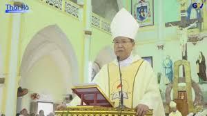 ĐGM Phêrô Nguyễn Văn Khảm giảng trong Thánh lễ nhận sứ vụ của Đức Cha Alphongso Nguyễn Hữu Long