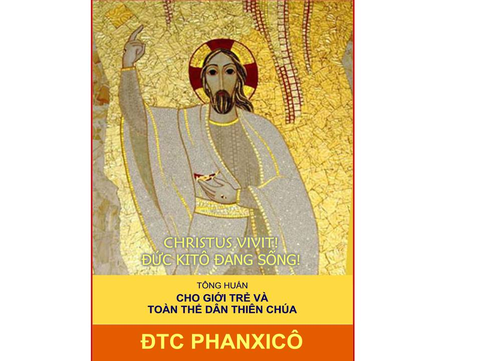 Kết quả hình ảnh cho TÔNG HUẤN HẬU THƯỢNG HỘI ĐỒNG GIÁM MỤC CHRISTUS VIVIT CỦA ĐỨC THÁNH CHA PHANXICÔ CHO GIỚI TRẺ VÀ TOÀN THỂ DÂN THIÊN CHÚA
