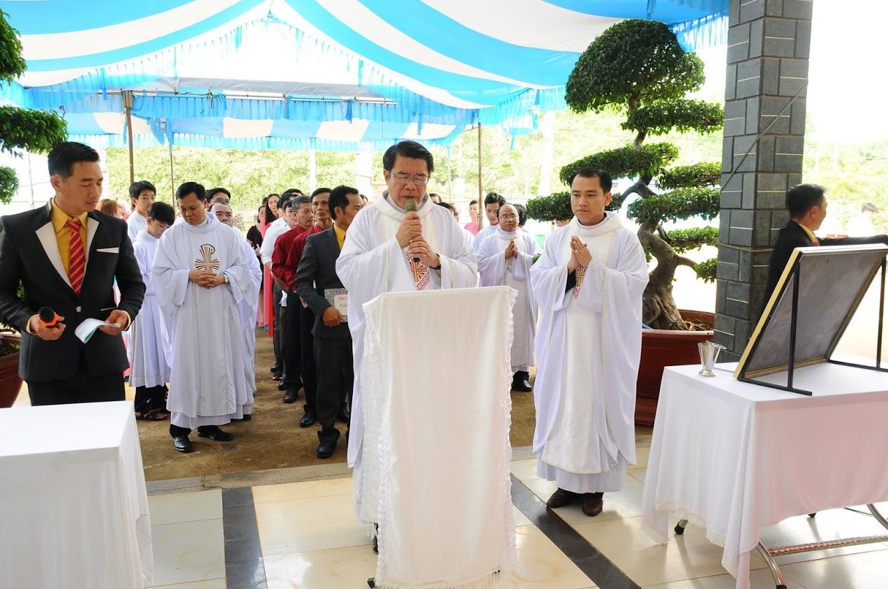 Giáo phận Xuân Lộc, Gx Truyền Tin Đặt Viên Đá Khởi Công Xây Dựng Tháp Chuông