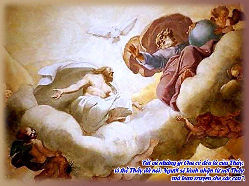 Thánh lễ kính Chúa Ba Ngôi