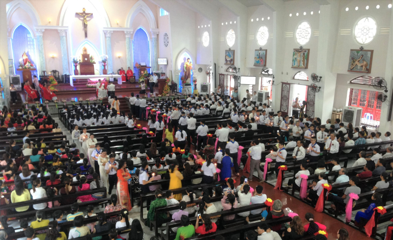 Giáo xứ Bình An: Hồng ân Chúa Thánh Thần
