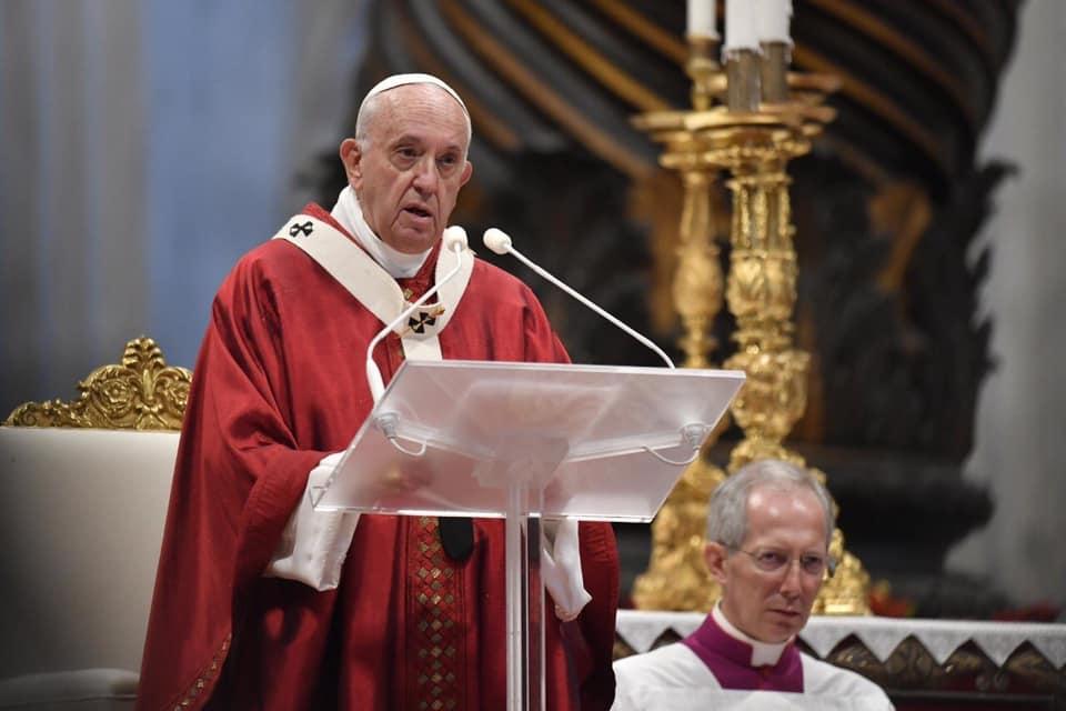 Bài giảng của Đức Thánh Cha Phanxicô trong lễ trọng kính hai thánh Tông Đồ Phêrô và Phaolô và trao dây Pallium cho 31 TGM 29/6/2019