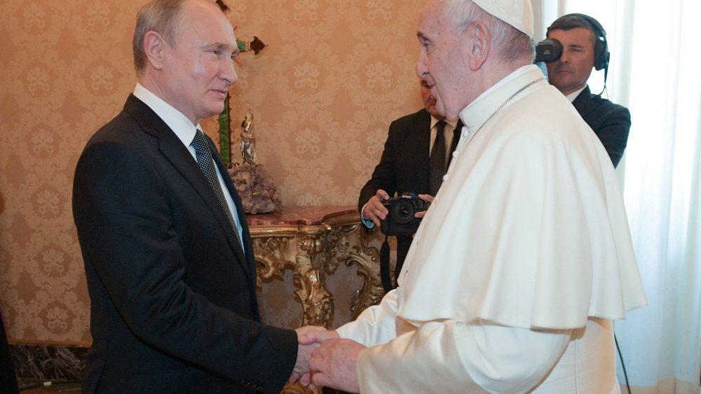 /ĐTC tiếp kiến Tổng Thống Putin của Nga