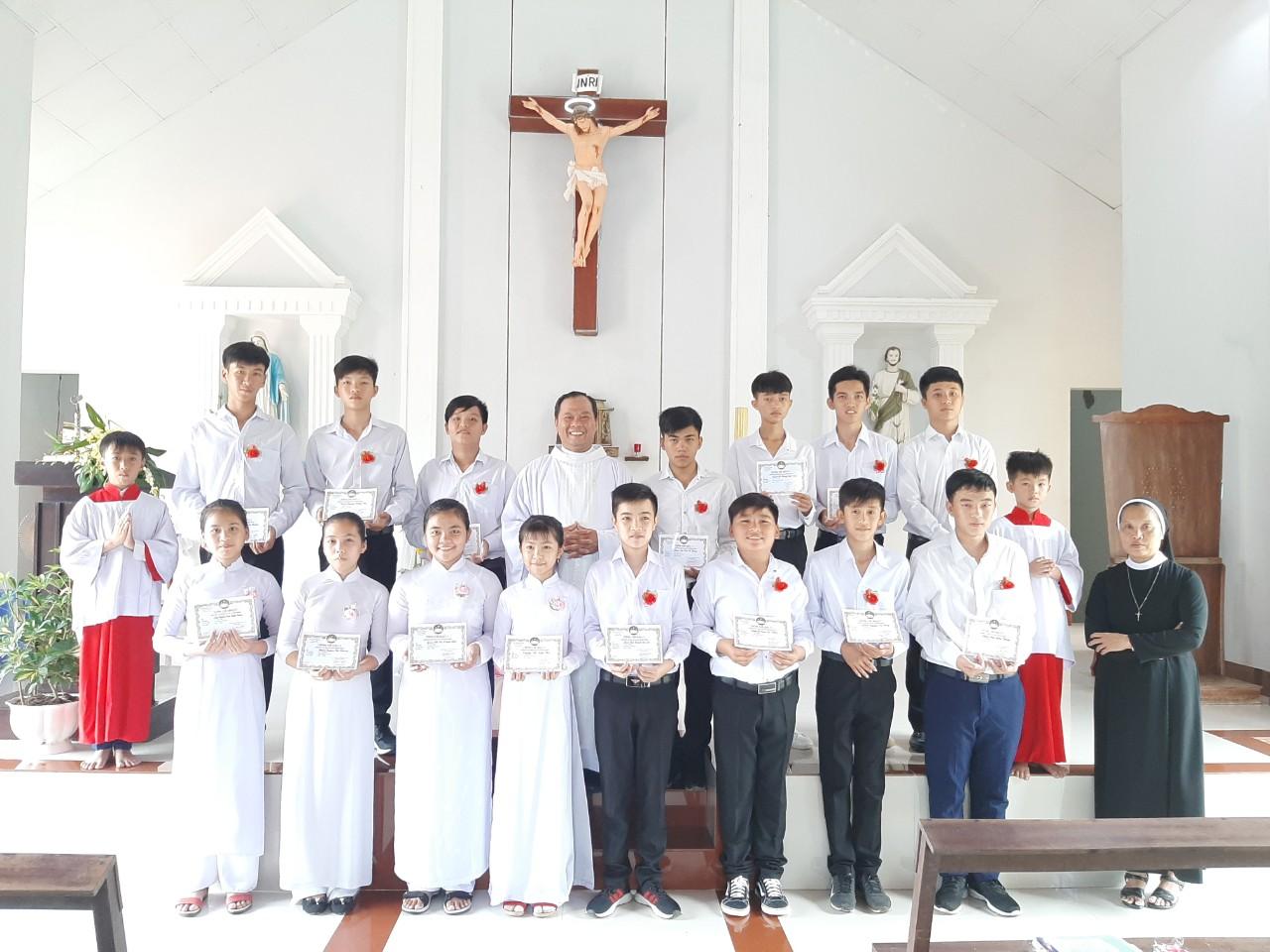 Họ đạo Cái Tắc & Cái Hàng : Thánh Lễ tuyên hứa Bao Đồng