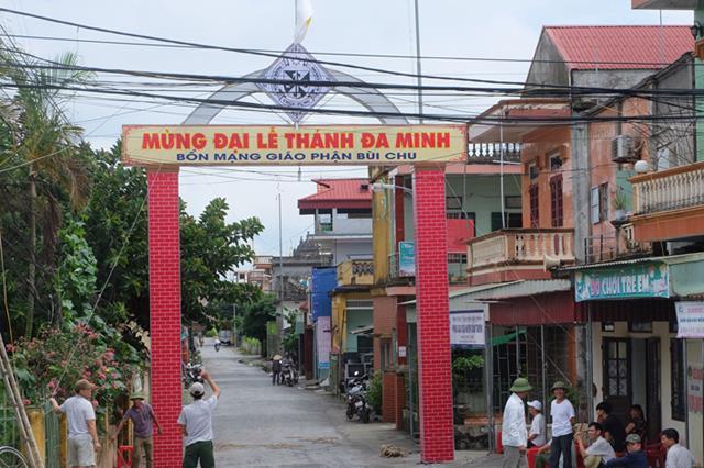 Giáo phận Bùi Chu : Công tác chuẩn bị đại lễ Cha Thánh Đa Minh