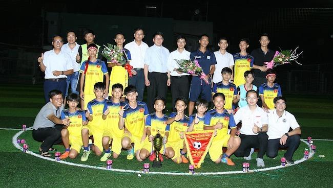 Giáo phận Bùi Chu : Giải bóng đá TNTT hạt Quần Phương