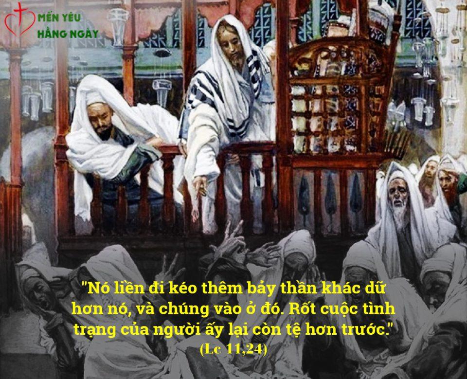 Triều đại của Thiên Chúa đã đến giữa anh em (11.10.2019 – Thứ Sáu Tuần XXVII Thường Niên )