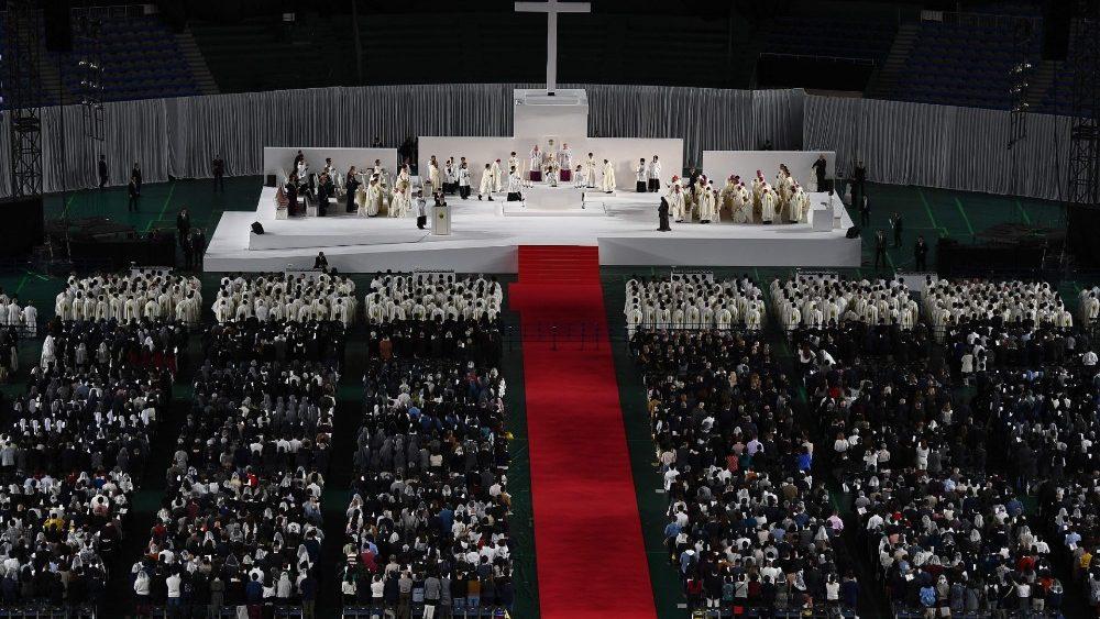 SUY NGHĨ VỀ CÁCH NGƯỜI NHẬT TỔ CHỨC THÁNH LỄ DO ĐTC PHANXICÔ CỬ HÀNH TẠI TOKYO NGÀY 25-11-2019