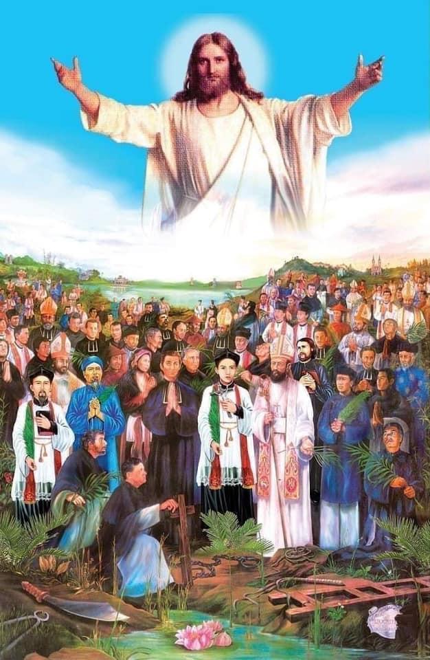 Bài Giảng Lễ Các Thánh Tử Đạo Việt Nam
