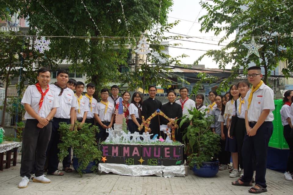 Thiếu nhi Giáo xứ Phú Bình: Máng cỏ ấm áp tình yêu thương