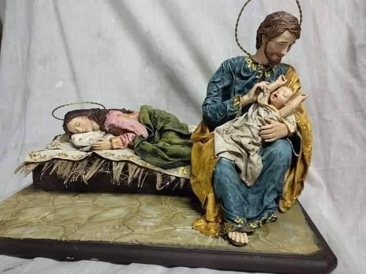 """""""Hãy để Mẹ ngủ"""" là cảnh Giáng Sinh Đức Giáo Hoàng Phanxicô yêu thích"""