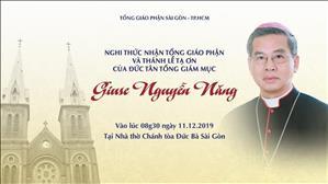 Trực tuyến: Thánh lễ Tạ ơn của Đức Tổng Giám mục Giuse Nguyễn Năng