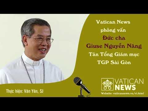 phỏng vấn Đức Tổng Giuse Nguyễn Năng
