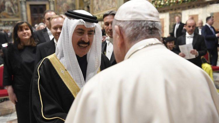 ĐTC Phanxicô gặp các nhà ngoại giao cạnh Toà Thánh: Hy Vọng