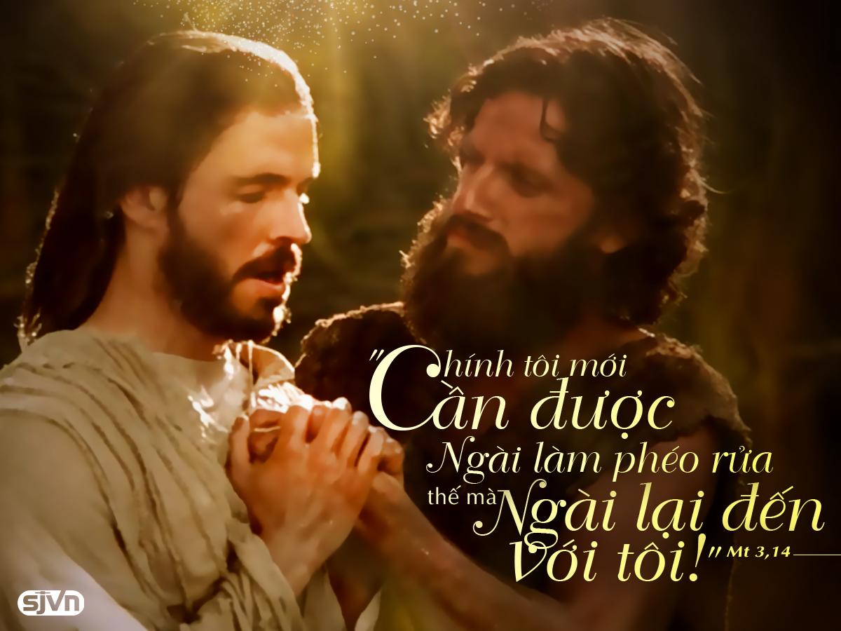 Lễ Chúa Giê-su Chịu Phép Rửa