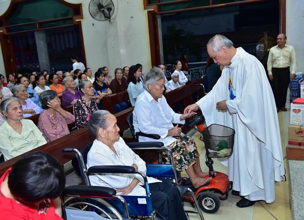 Giáo xứ Tân Phú Hòa: Ngày thế giới cầu nguyện cho bệnh nhân