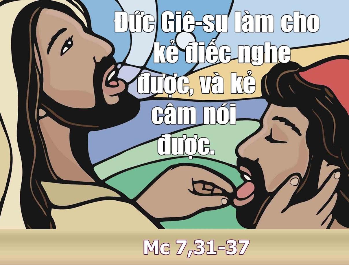 Xin Chúa mở tai và miệng chúng con (Thứ Sáu tuần V TN -14.02.2020)