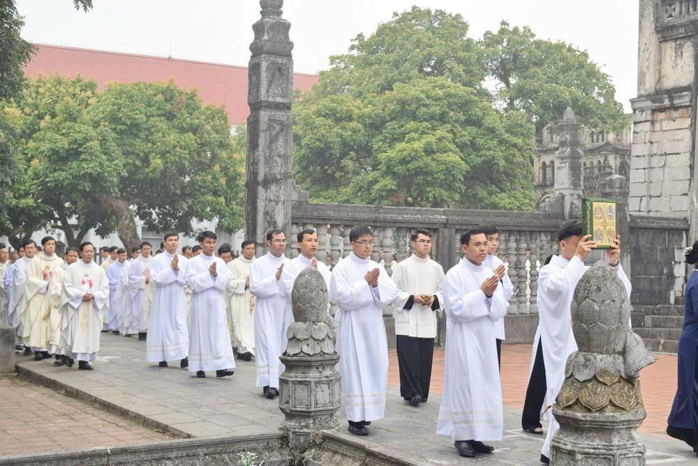 Giáo phận Phát Diệm có thêm 6 tân Phó tế