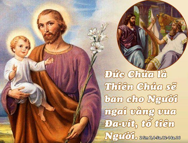 Thánh lễ mừng kính Thánh Giuse- bạn trăm năm Đức Maria