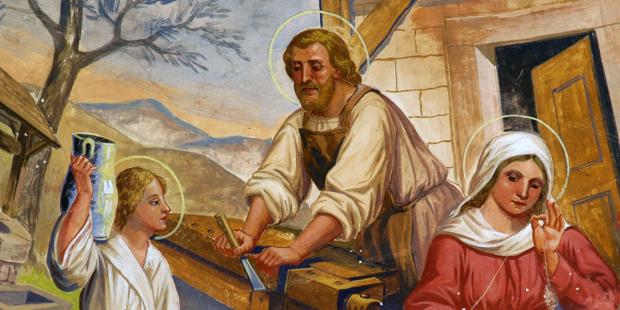 Tại sao Thánh Giuse đặc biệt là người bảo trợ của chúng ta khi chúng ta làm việc tại nhà