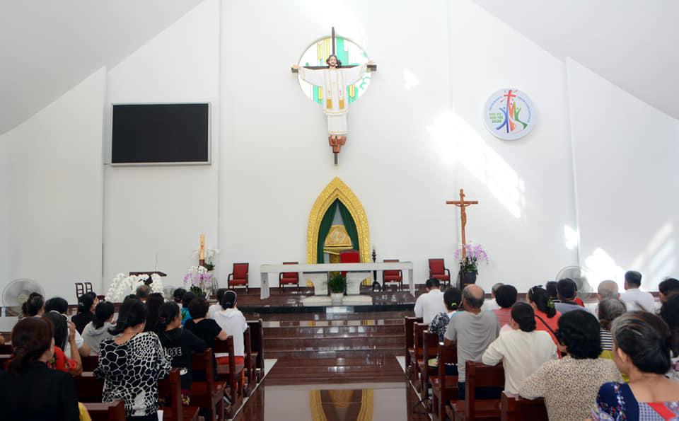 Caritas Giáo hạt Xóm Mới : Hành Hương Đức Mẹ Bãi Dâu Vũng Tàu