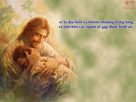 KHIÊM NHƯỜNG VÀ TIN TƯỞNG TRƯỚC MẶC KHẢI CỦA THIÊN CHÚA