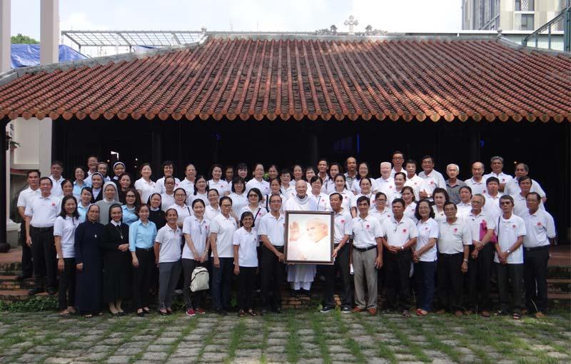 Mừng kính thánh Giáo hoàng Gioan Phaolô IIbổn mạng Caritas Tổng Giáo phận Sài Gòn