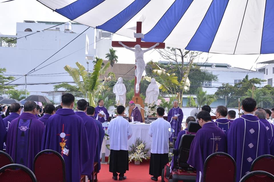 Trụ sở Phát Diệm Sài Gòn: Thánh lễ cầu nguyện cho Giám mục, Linh mục, Tu sĩ và Giáo dân đã qua đời 2-11-2020