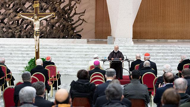 Bài Giảng Mùa Vọng thứ hai của Đức Hồng Y Raniero Cantalamessa trước Đức Thánh Cha và Giáo triều Rôma.